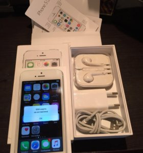 Обмен iPhone 5s silver 16gb RU/A