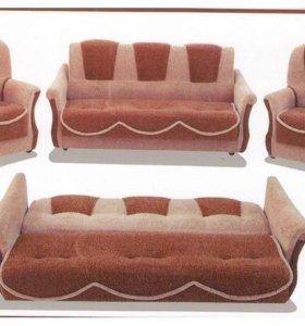 0254,Комплект мягкой мебели. От фабрики