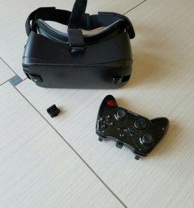 Очки вертуальной реальности VR и джостик