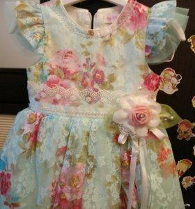 Платье нарядное на девочку 2 года