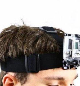 Крепление на голову для экшн камер