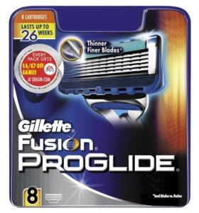 Gillette fusion proglide 8шт