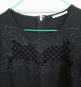 Платье черное новое Zarina