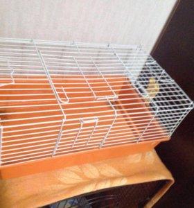 Клетка для шиншиллы ,кроликов,хорьков.