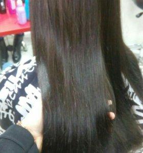 Полировка волос, смывка, окрашивания, стрижки