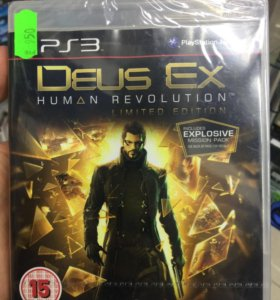 Deus ex. Human revolution. Limited edition (PS3)