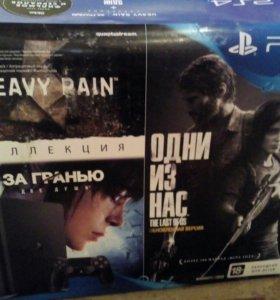 PS4 с 2 играми