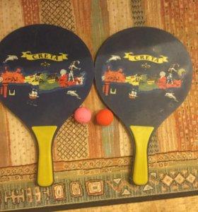 Набор ракеток для пляжного Тениса