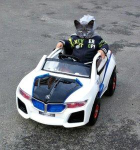 Детский автомобиль на аккумуляторе с пультом