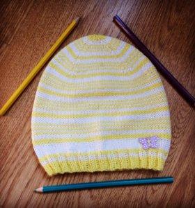 Вяжу на заказ шапки шарфы