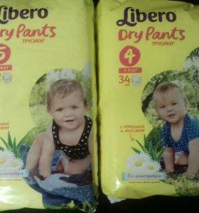 Трусики Libero dry pants 4 ,5,6