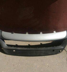 Крышка радиатора и нижняя часть бампера BMW X5