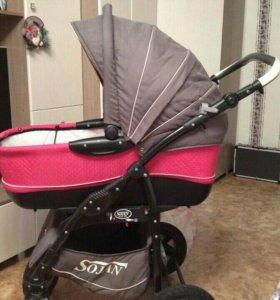Детская коляска Sojan Zippy Lux (2 в 1)