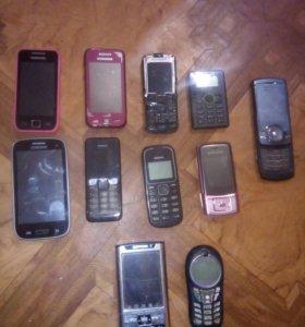 Продам запчасти или телефоны целиком на запчасти