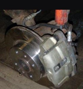 Задняя балка с дисковыми тормозами ваз 2110,2109