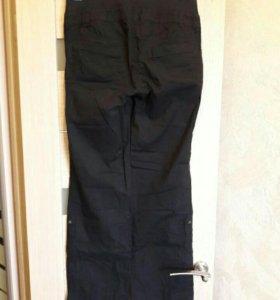 Хлопковые брюки для беременных р.44