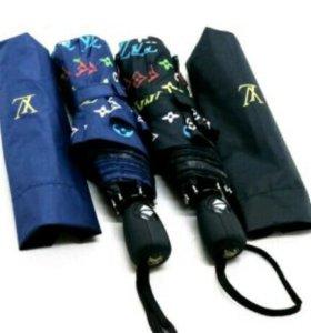 Зонт lv черный