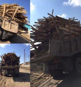 Продам дрова (горбыль)