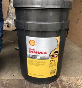 Моторное масло SHELL Rimula R6 МЕ 5W-30 20L