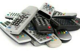 Пульты для ТВ, DVD, спутниковых ресиверов