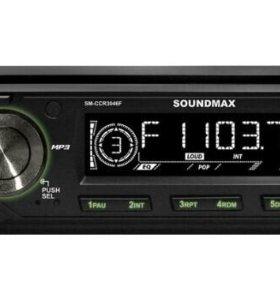 Автомагнитола SoundMAX SM-CCR3047F 1 DIN 4x45W
