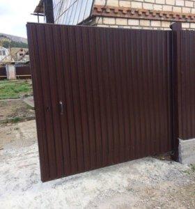 Ворота,забор