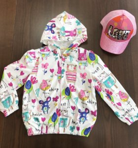 Курточка для девочки на весну лето 2 3 4 года