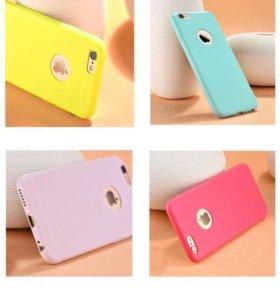 iPhone чехлы силиконовые