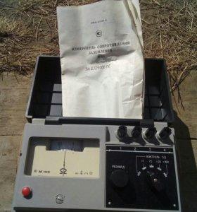 Измеритель сопротевления заземления М416 2 шт новы
