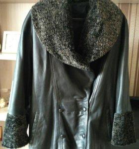 Куртка кожаная 48-50