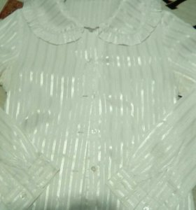 Белая блузка отс