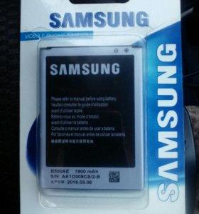 Аккумуляторная батарея новая на samsung s4 mini