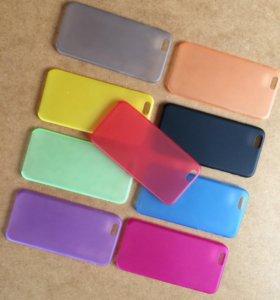 Ультратонкие пластиковые чехлы iPhone