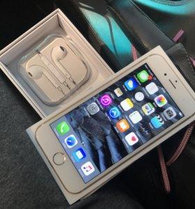 iPhone 6 64 gb Gold ,оригинал ,с полным комплектом