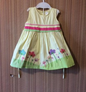 Летние платье для девочки 1-2 года