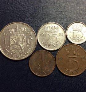 Комплект монет Нидерландов
