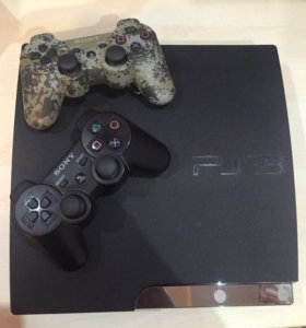 Sony playstation 3 (320 гб)+камера+PS move+2 диска