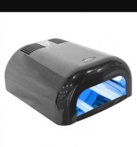 УФ лампа 36вт + подарок подставка для кисточек