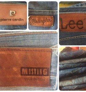 Lee Mustang Wrangler Мужские джинсы