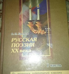 Книга поэзия 20 века