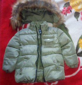 Куртка теплая детская