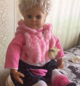 Интерактивная кукла Настя