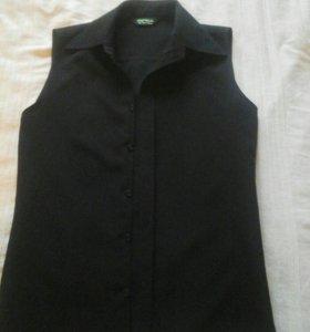 Жилетка-блузка