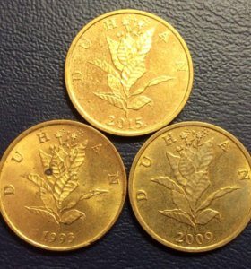 Монета Хорватии - 10 лип (duhan)
