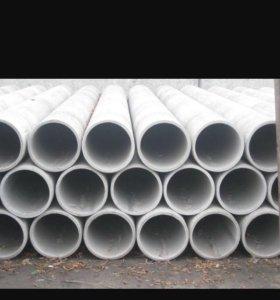 Асбестовые трубы 4 метра (150мм) НОВЫЕ