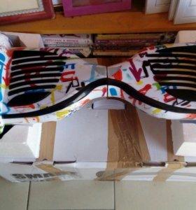 Гироскутер с самоболансом 10.5 дюймов графити