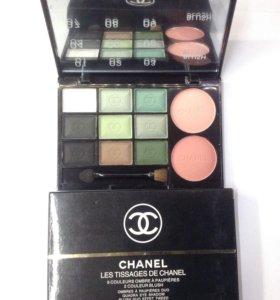 Палетка матовых теней и румян Chanel