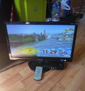 """Телевизор монитор Benq 19""""с пультом"""
