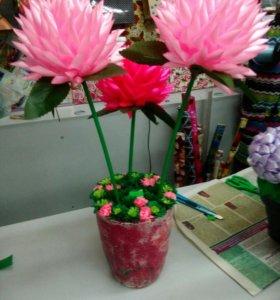 """Топиарий """"цветы"""""""
