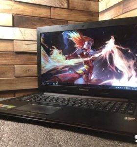 "4-х ядерный ноутбук lenovo ""как новый"""